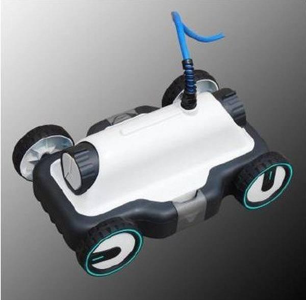 Robot piscine avec filtration